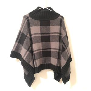 Columbia Women's Be Cozy Sweater- charcoal plaid